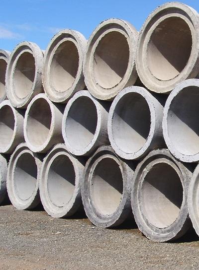Tuberías de concreto