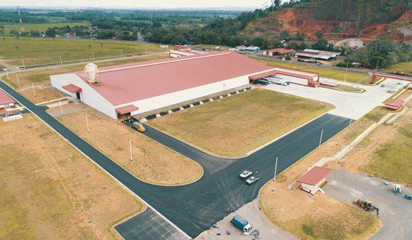 Carpeta asfáltica zona industrial, SC